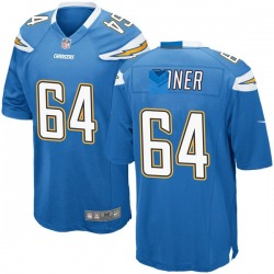 Nike Cole Toner Los Angeles Chargers Youth Game Blue Powder Alternate Jersey