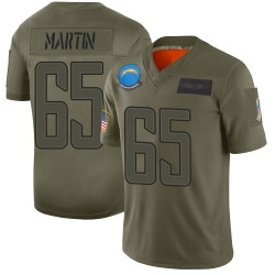 Nike Koda Martin Los Angeles Chargers Youth Limited Camo 2019 Salute to Service Jersey