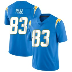 Nike Mitchell Paige Los Angeles Chargers Men's Limited Blue Powder Vapor Untouchable Alternate Jersey